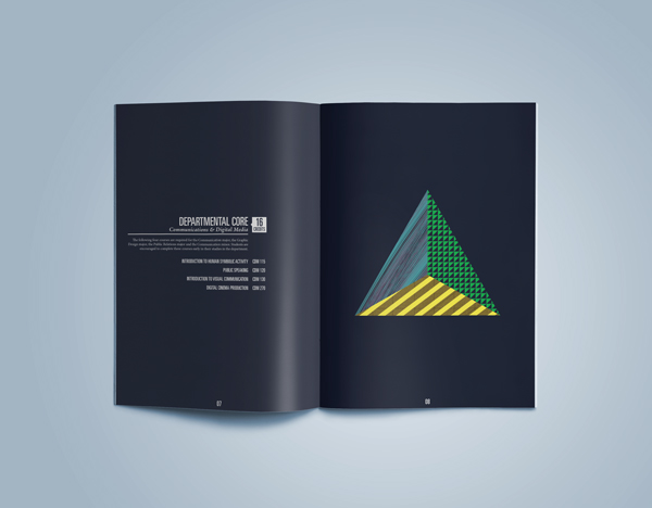carthage college rob robert hameetman find your angle campaign editorial design book Catalogue school University