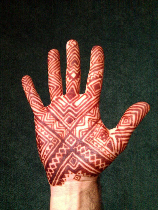 Polynesian Henna Tattoo: Polynesian Henna Design On Behance