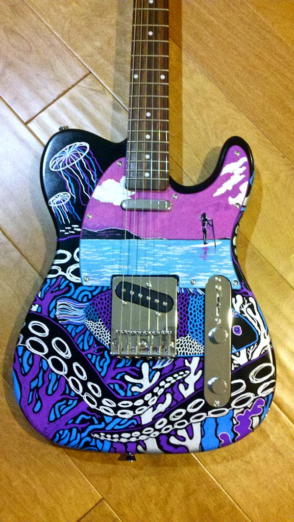 Guitar Designs Art : Guitar art on behance
