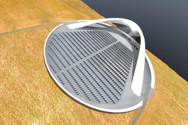 Модель солярного крематория от Юрия Цегла.