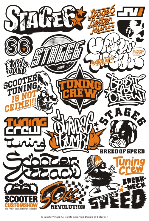 Scooter Attack Logos On Behance