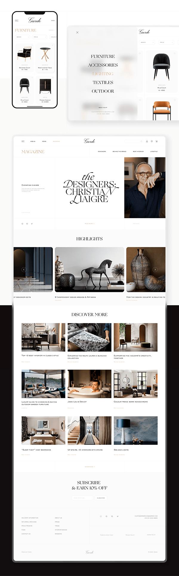 Garde – Online Store