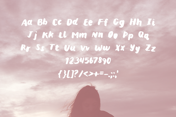 'Mina' Brush Typeface (FREE)
