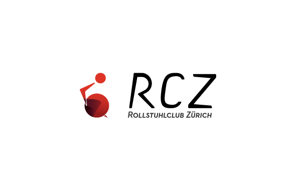 RCZ - Rollstuhlclub Zürich - Indentity on Behance Handicap Logo Redesign