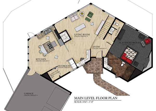 Aging in place on behance Aging in place floor plans