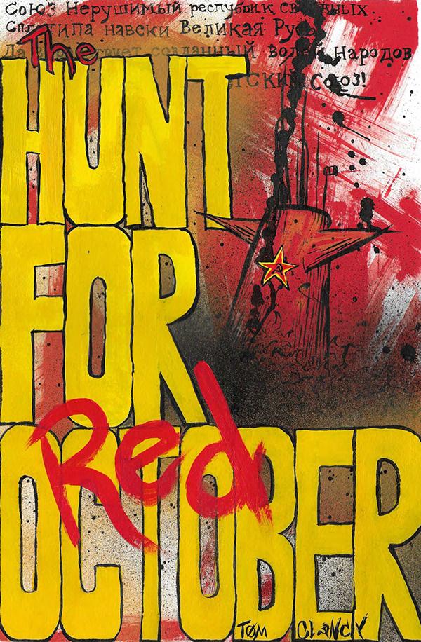 The Hunt for Red October (Book Jacket) on Pratt Portfolios