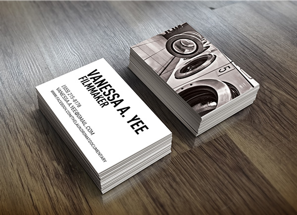 Filmmaker business cards on behance colourmoves