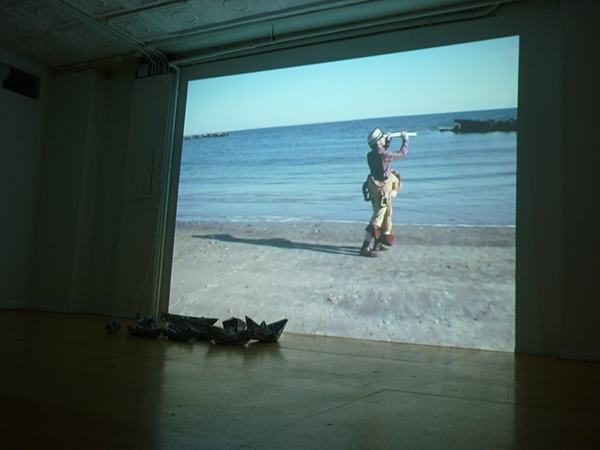 Antonio Ortuño My American Uncle 255canal art space New York Exhibition