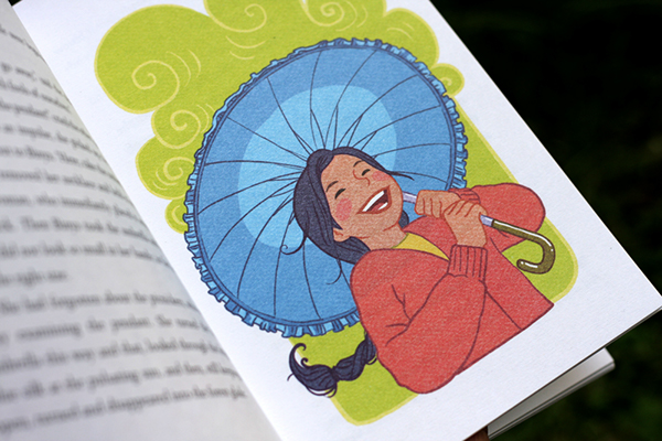 blue umbrella by ruskin bond The blue umbrella by ruskin bond reviewed by name: mira dhandra school: gyan mandir public school there was a girl named binya she used to take them over the brow of the hill for grazing.