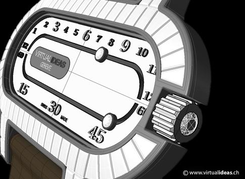 3D Render rendering design Jelwelry watch luxury time Rhino Rhinoceros Maxwell Virtualideas Virtual ideas timepiece Watches