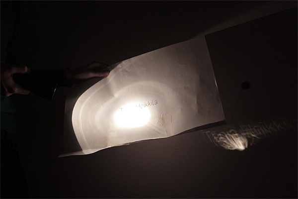 opening titles light cut out