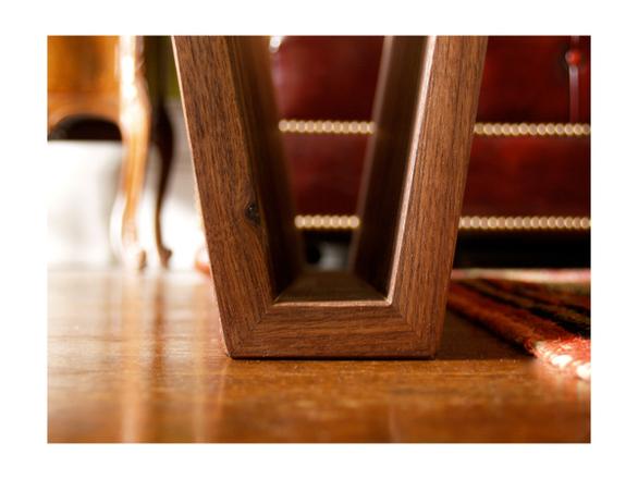 walnut furniture coffee table storage floating natural minimal wood aluminum simple home Interior math square root