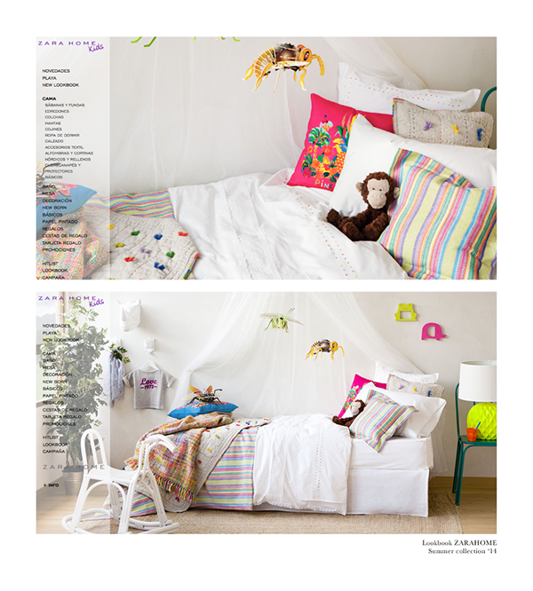 Zara home tropical collection kids s s 14 on behance - Zara home kids espana ...