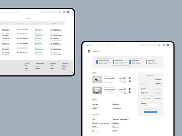 HighForm Paper Solutions - Website UI/UX