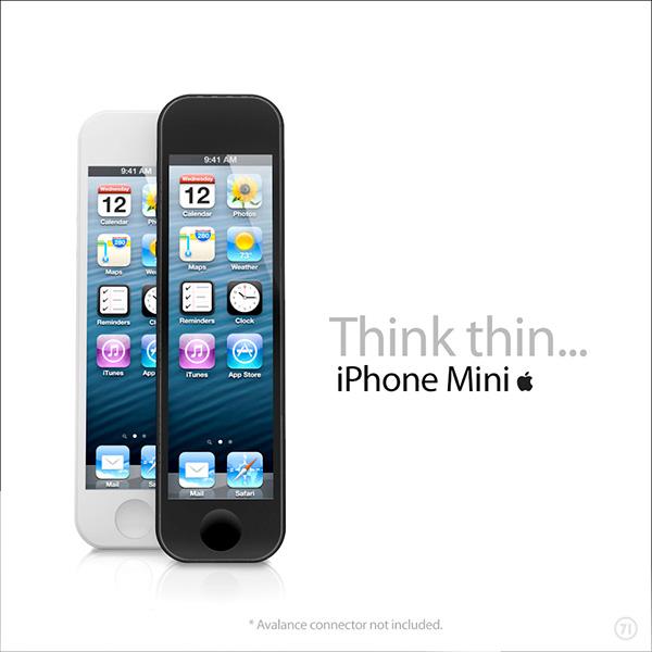 iphone mini on behance. Black Bedroom Furniture Sets. Home Design Ideas