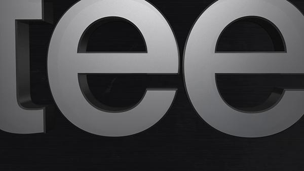 Steelseries animated logo 3d design End-tag