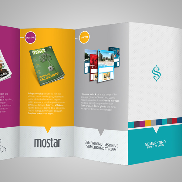 brochure on behance