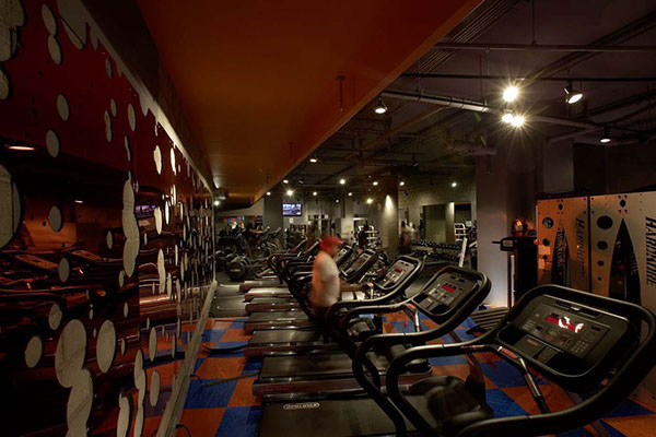 Commercial gym interior design images