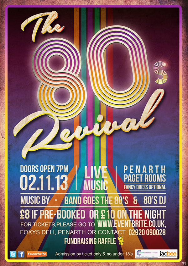 The 80s Revival Poster On Student Show