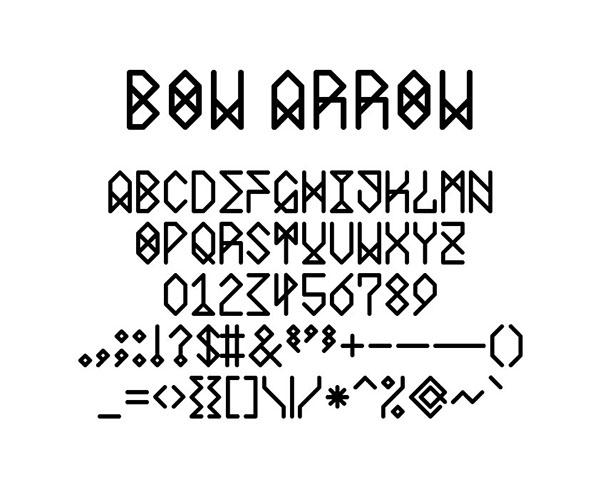 font lettering