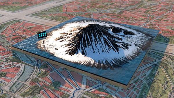 Mount Fuji - Gaea&octane