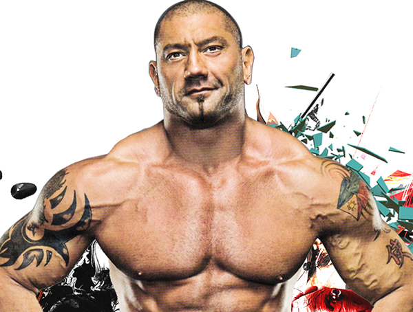 WWE Dave Batista Wallpaper on Pantone Canvas Gallery