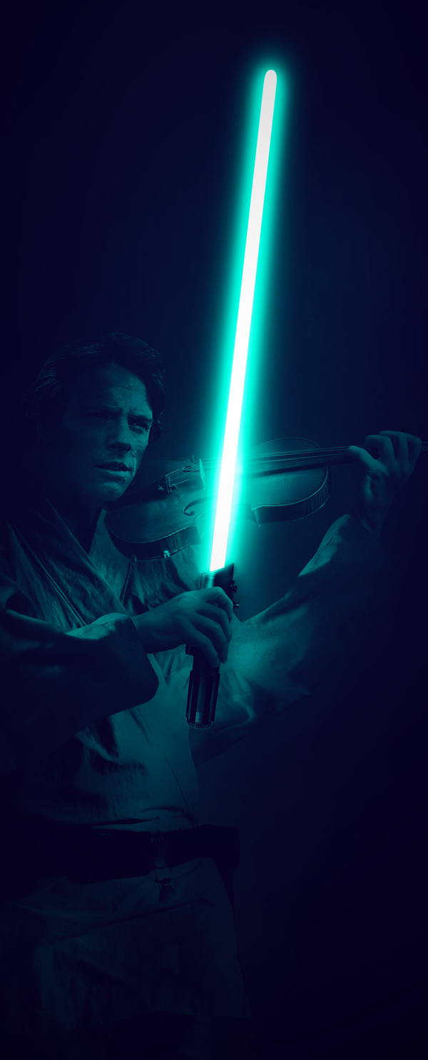 Luke Violonist by Patrick Seymour