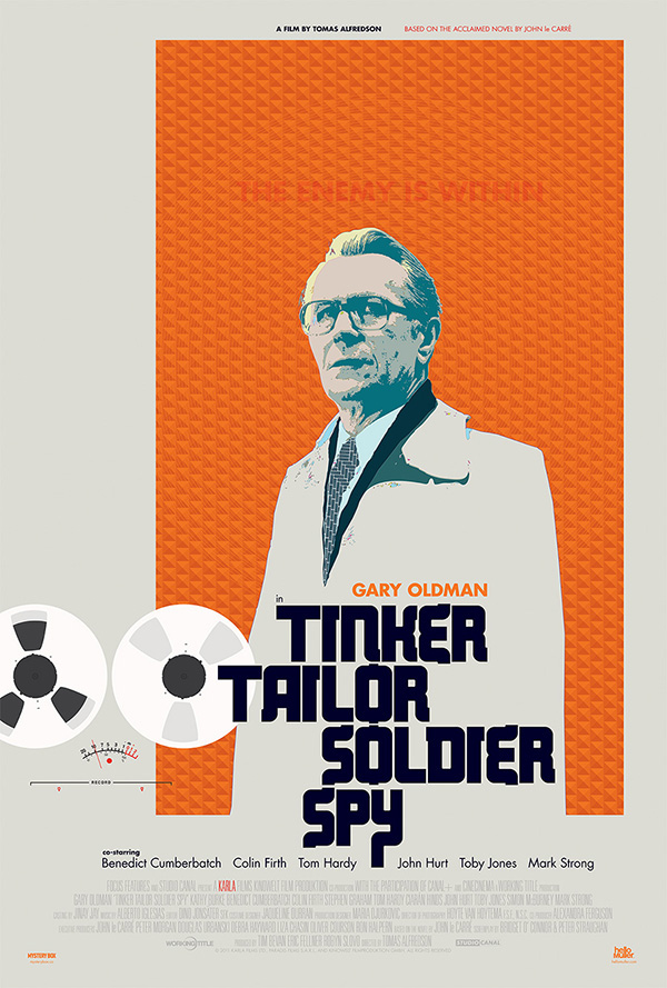 Image result for movie poster tinker tailor soldier spy