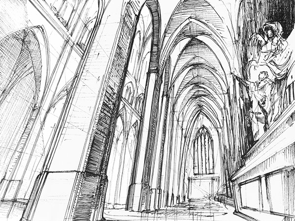 Gothic Sketches On Behance