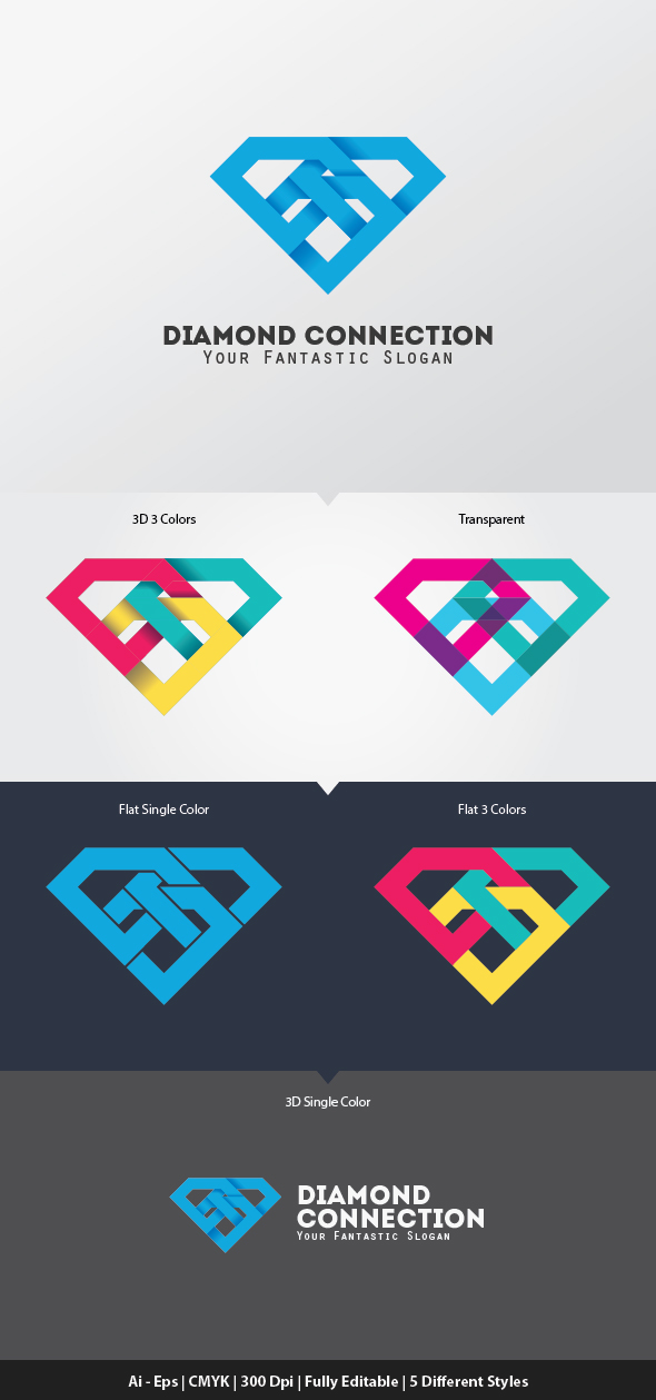 icon diamond vector logo stock