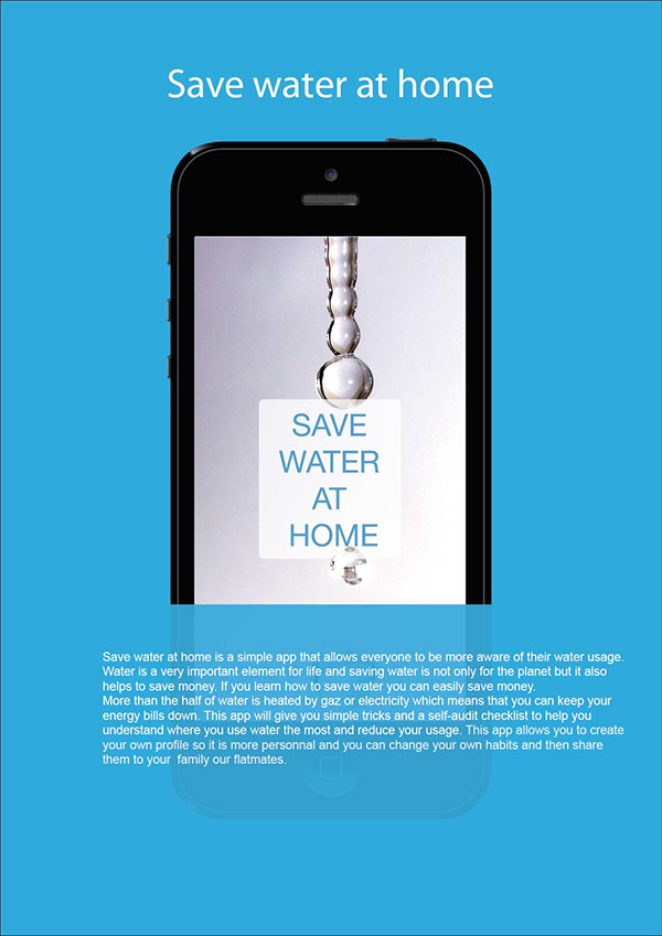 Save Water At Home On Behance