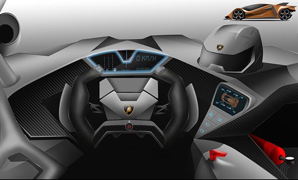 Lamborghini Estampida On Behance