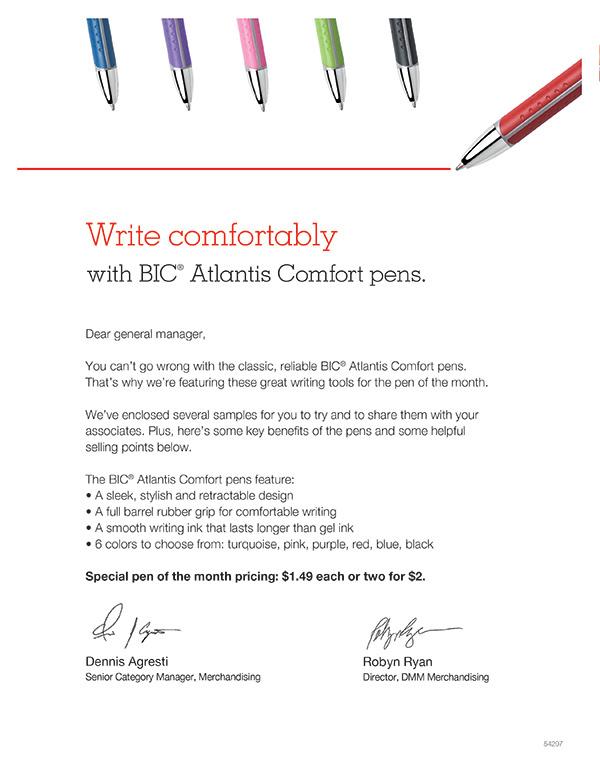 Label letter mailer kit pen Staples