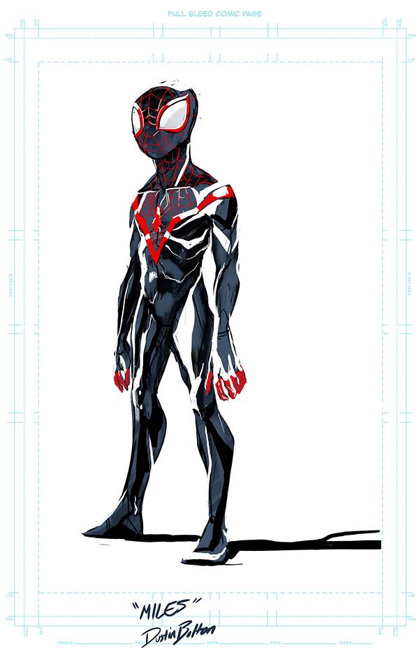 Character Design Man : Character design spider man on risd portfolios