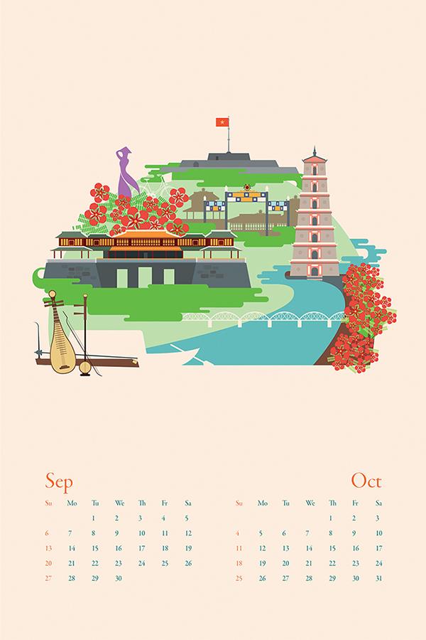 Calendar Illustration Jobs : Km calendar on illustration served