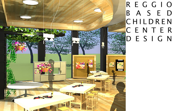 Reggio Classroom Design ~ Reggio based children center design on behance