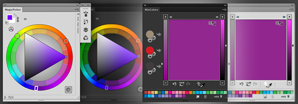 Traditional Color Wheel And Color Mixer In Photoshop On Behance