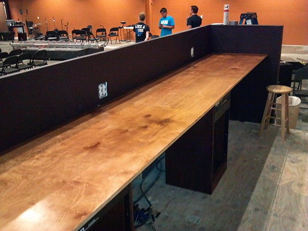 Copper Pointe Church Youth Auditorium On Behance