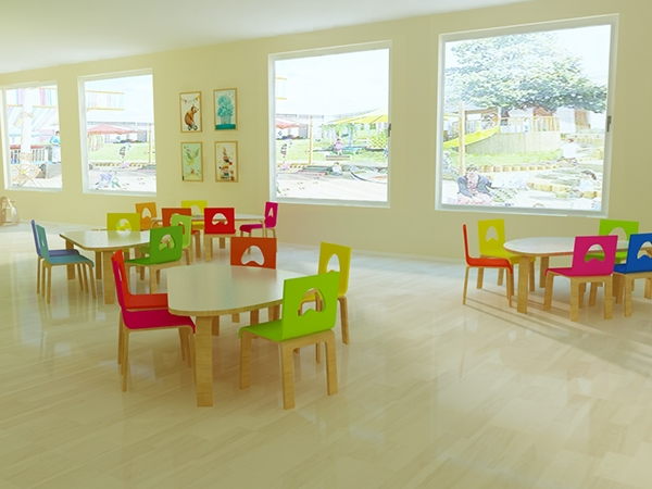 Rainbow Kindergarten Interior Design On Behance