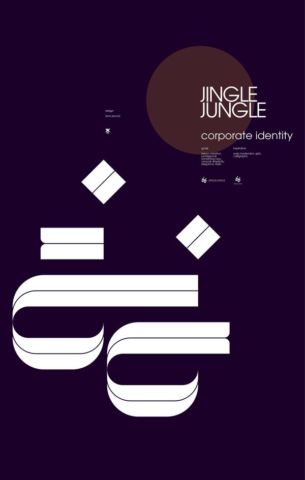 typographic poster type design vector graphics