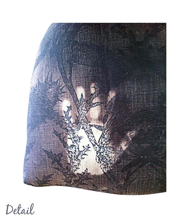 THERMOCROMIC print chair upholstery seilkscreen pattern light heat dark Hot cold
