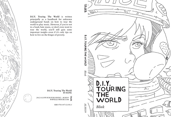book cover poster type