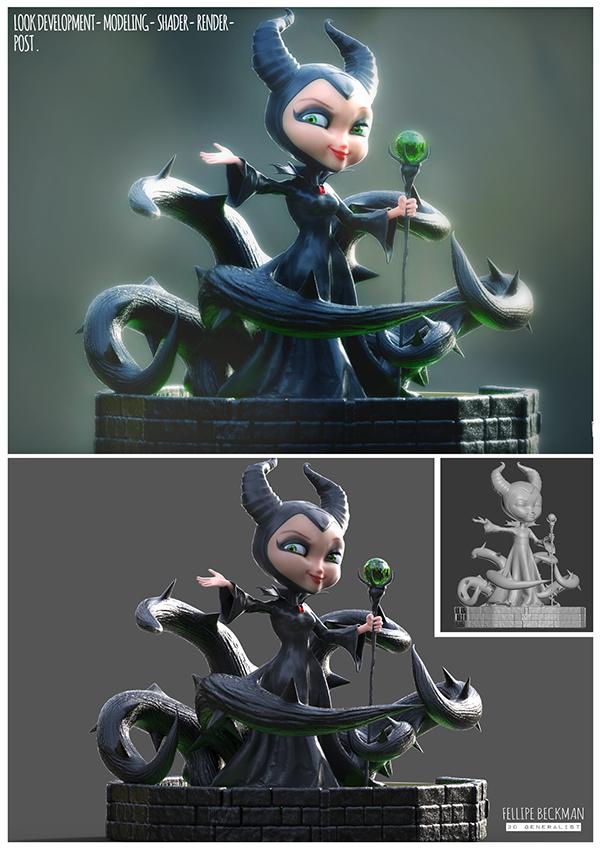 Maleficent Fan Art On Behance