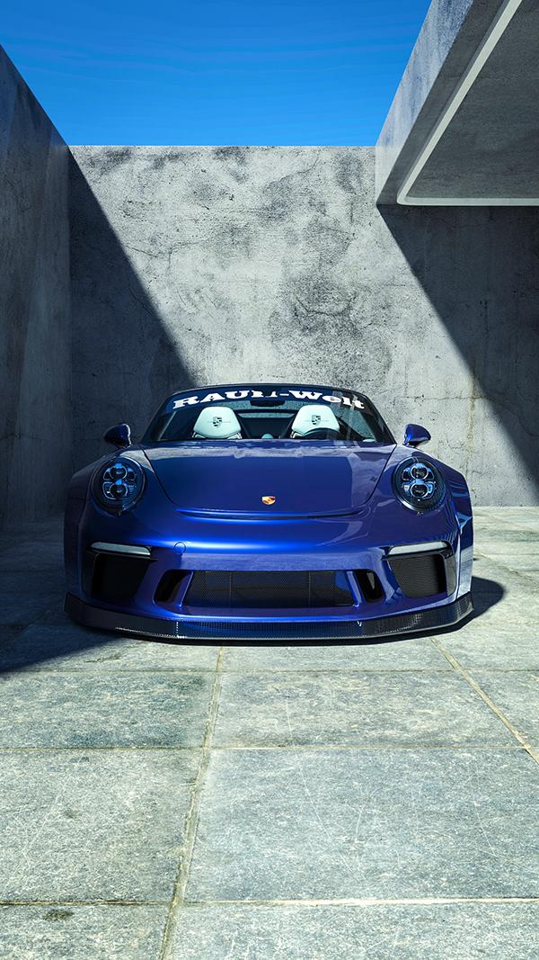 RWB Porsche 911 Speedster | CGI