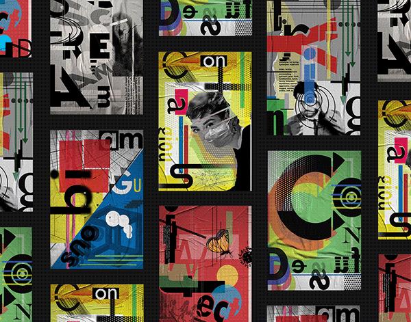 Random Word Typography Posters I