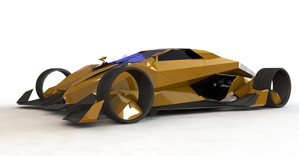 2050 Lamborghini Toro Concept Car On Behance