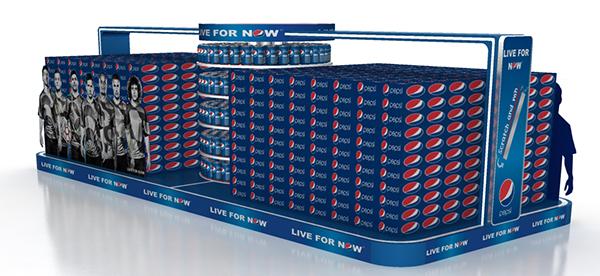 Pepsi Mega Displays