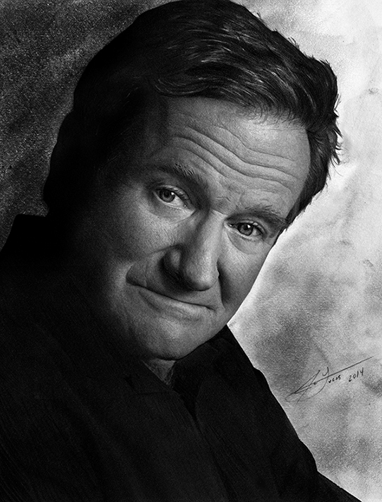 As a child i was entertained by robin williams in films like popeye hook aladdin and mrs doubtfire later his creativity inspired me to remain true to