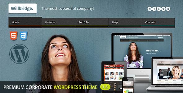 Willbridge WordPress Theme