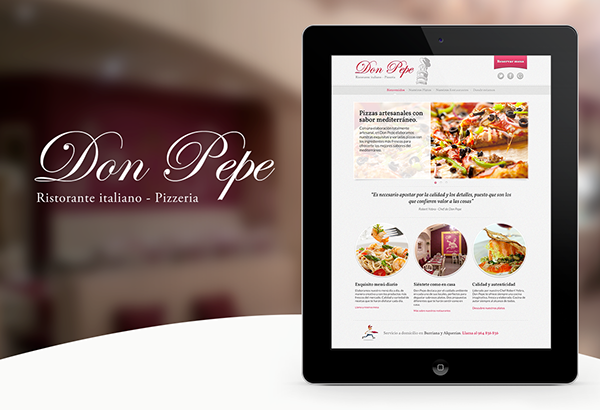 Ristorante Don Pepe Website